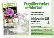 Familienheim und Garten Verlags Gmbh
