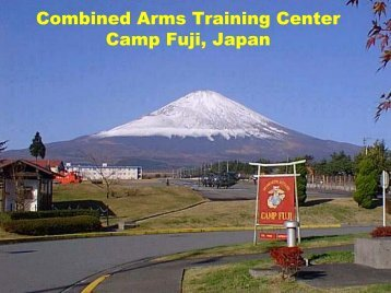 Camp Fuji - MCCS Okinawa