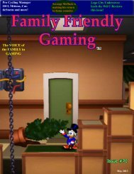 Issue #70 - Family Friendly Gaming