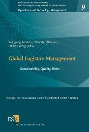 Global Logistics Management - Hamburg International Conference ...