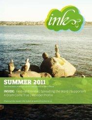Ink - Summer 2011 - Vancouver International Writers Festival