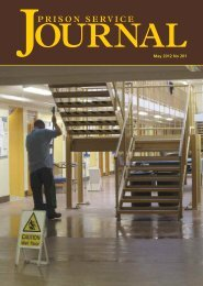 PSJ May 2012 No. 201.pdf - Centre for Crime and Justice Studies