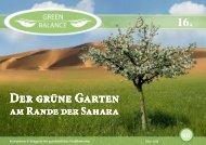 GreenBalance-Magazin (Ausgabe 16)