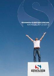 Katalog Sinclair 2012/13 - PRIMA - KLIMA Pardubice