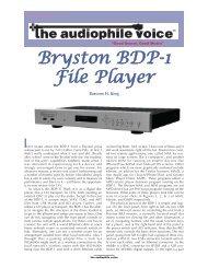 Bryston BDP-1 File Player