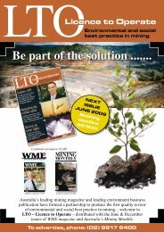 Be part of the solution ....... - WME magazine