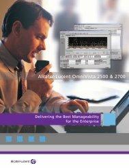 Alcatel-Lucent OmniVista 2500 & 2700