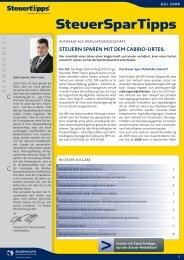 AAV Newsletter 07-08 - Steuertipps.de