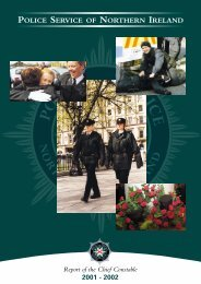 Chief Cons Annual Report - CAIN - University of Ulster