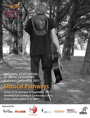 Musical Pathways - Rhinegold Publishing