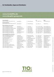 Broschüre dat-o - Office in Bonn und Köln