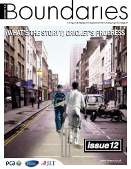issue 12 - The Professional Cricketers' Association