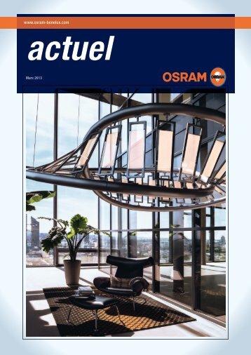 Actuel mars 2013 - Osram