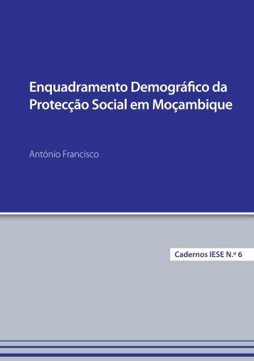 Enquadramento Demográfico da Protecção Social em - IESE