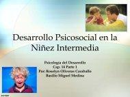 Desarrollo Psicosocial en la Ninez Intermedia - PageOut