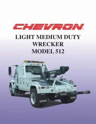 light medium duty wrecker model 512 - Zip's Truck Equipment