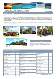 nikao beach bungalows - sep 2007 ihv - Island Hopper Vacations