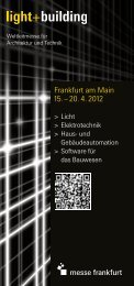 Frankfurt am Main 15. – 20. 4. 2012 - messelogo