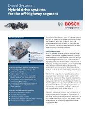 Hybrid OHW (PDF 634.07 kB) - Bosch Automotive Technology