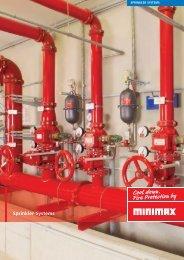 Sprinkler systems - Minimax