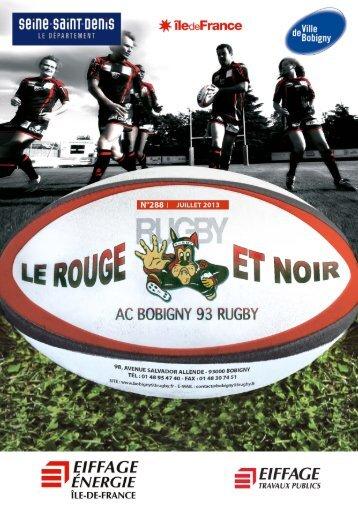 saison 2012-2013 - AC Bobigny 93 Rugby