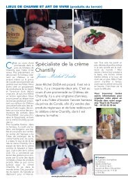 Spécialiste de la crème Chantilly Jean-Michel Duda - Comité ...