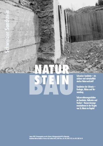 Schweizer Sandstein - Naturstein-Verband Schweiz (NVS)