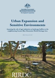 download report - The Blue Mountains World Heritage Institute