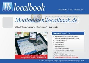 Mediadaten localbook.de