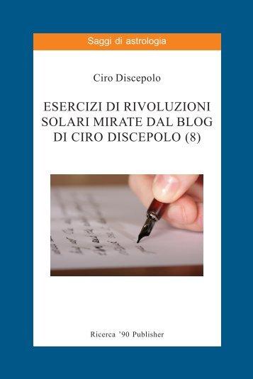 Esercizi di Rivoluzioni Solari Mirate dal blog di Ciro ... - cirodiscepolo.it