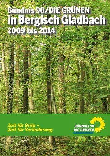 Herzlich Willkommen bei den GRÜNEN! - Grüne Bergisch Gladbach