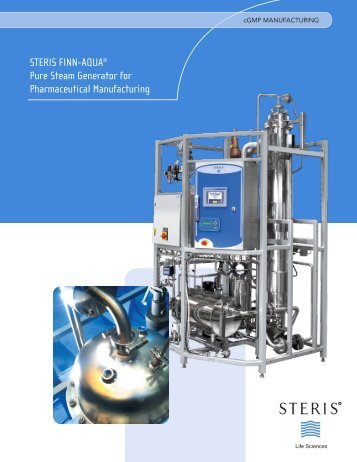 STERIS FINN-AQUA® Pure Steam Generator for Pharmaceutical ...