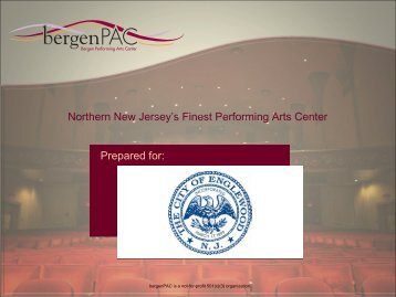 bergenPAC is a not-for-profit 501(c)(3 ... - City of Englewood