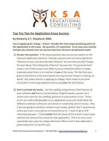 ten top tips for animal ethics application success melbourne  top ten tips for application essay success by we add up
