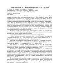 DETERMINACION DE PARAMETROS TEXTURALES DE GALLETAS