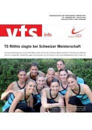 TS Röthis siegte bei Schweizer Meisterschaft - Vorarlberger ...