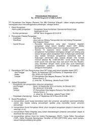 (Persero) Tbk SBU Distribusi Wilayah I dalam rangka ... - PGN