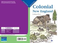 Colonial New England O - Catawba County Schools