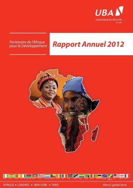 Rapport Annuel 2012 - UBA Plc