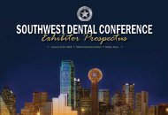 Exhibitor Prospectus - Southwest Dental Conference