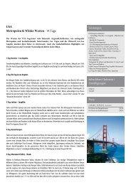 USA Metropolen & Wilder Westen