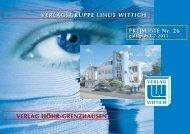 Beilagen-Preisliste Nr. 26 - Wittich Verlage KG