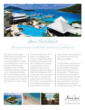 About Scrub Island - Scrub Island Resort, Spa & Marina, BVI