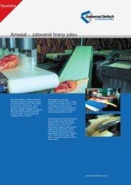 Amseal – zatavené hrany pásu