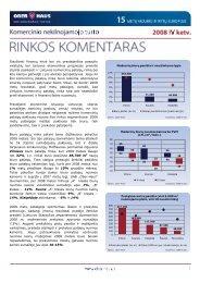 Komercinio NT rinkos komentaras 2008 m. IV ketv. - Ober-Haus
