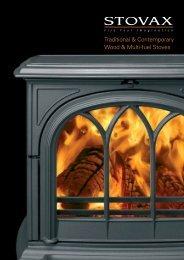 Traditional & Contemporary Wood & Multi-fuel Stoves - Brochures ...