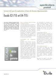 Escala E2-715 et E4-715 - Bull