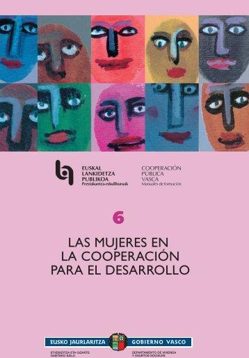 las mujeres en la cooperación para el desarrollo - eFaber