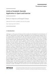 Intech-Limits of anabolic steroids application in sport and exercise