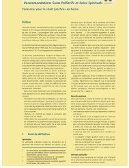BIGORIO 2008 Recommandations Soins Palliatifs et Soins Spirituels